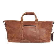 Canyon Outback Leather Little River 22'' Travel Duffel; Tan