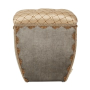 Jennifer Taylor Jan Traditional Decorative Ottoman