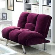 Hokku Designs Oberon Chair; Purple