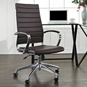 Modway Jive High-Back Executive Office Chair; Brown