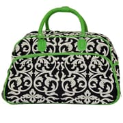 All-Seasons 21'' 2 Wheeled Carry-On Duffel; Green