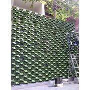 ModularLiving Novelty Wall Planter (Set of 20); Green