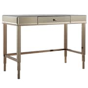 Kingstown Home Braelyn Writing Desk; Champagne Gold Plated