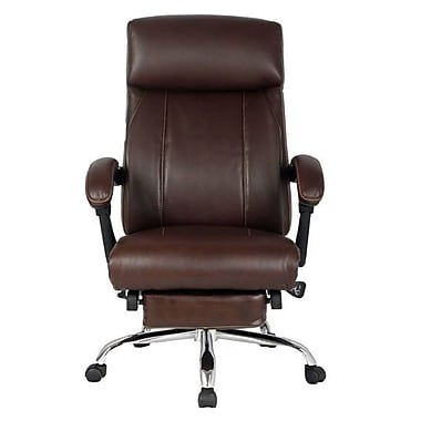 Viva Office High Back Leather Recliner Executive Chair W Padded Headrest And