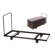 Correll, Inc. Flat Stacking Table Truck for 8' Rectangular Folding Tables (T3096)