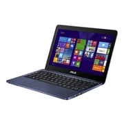 "ASUS EeeBook X205TA 11.6"" HD Display, Intel Atom Z3735F, 32GB SSD, 2 GB RAM, Windows 8.1 Professional Notebook, Dark Blue"