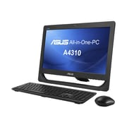 "ASUS A4310-B1 20"" LED Core I3 4150T 500GB HDD 4GB RAM All-In-One PC, Black"