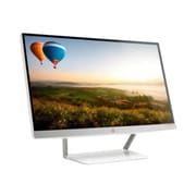 "HP Pavilion J7Y65AA#ABA 25"" 1080p FullHD LED-Backlit LCD Monitor, Snow White/Natural Silver"