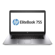 "HP EliteBook 755 G2 15.6"" Full HD Display, AMD A Series 7350B, 180GB SSD, 8GB RAM, Windows Notebook, Black"