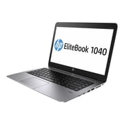 "HP EliteBook Folio 1040 G2 14"" HD+ Notebook, Intel Core i5 5200U, 128GB SSD, 4GB RAM, Windows, Platinum"