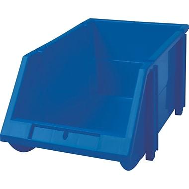 Hi-Stak Plastic Bins, Blue, CB262