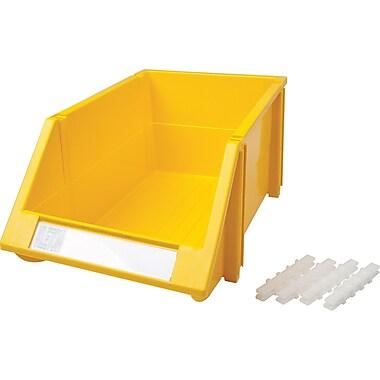 Hi-Stak Plastic Bins, Yellow, CB265