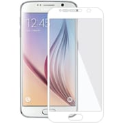 Amzer® Kristal™ Tempered Glass HD Edge2Edge Screen Protector for Samsung Galaxy S6, White (AMZ97839)