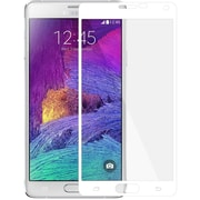Amzer® Kristal™ Tempered Glass HD Edge2Edge Screen Protector for Samsung Galaxy Note 4, White (AMZ97773)