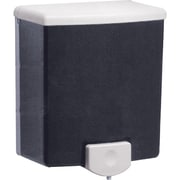 Surface-Mounted Soap Dispensers, Black/Grey, 3/Pack
