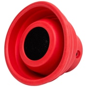 Syba X-Horn Bluetooth 2.1 Speaker SPK23055, Splash Resistant, Red