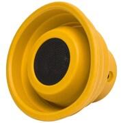 Syba X-Horn Bluetooth 2.1 Speaker SPK23057, Splash Resistant, Yellow