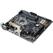 ASUS  Desktop Motherboard, Intel Z170 Chipset, Micro ATX (Z170M-PLUS)