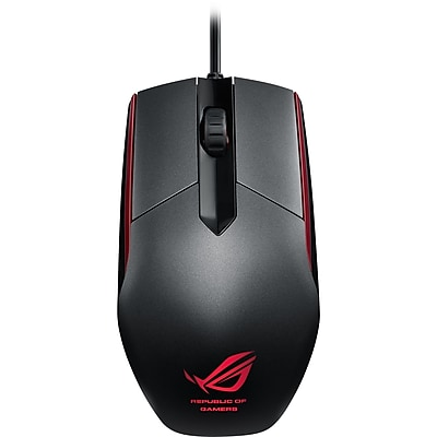 ASUS ROG Sica Wired Optical Gaming Mouse, Steel Gray