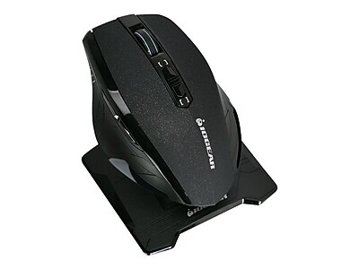 Iogear Kaliber Gaming Chimera M2 GME652UR USB 2.0 Wired\/Wireless RF Optical Dual Mode Mouse, Black