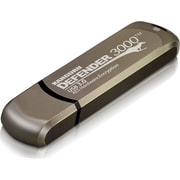 Kanguru  Defender3000  8GB 260/120 Mbps SuperSpeed USB 3.0 Secure Flash Drive, Brown (KDF3000-8G)