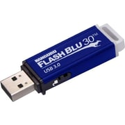 Kanguru  FlashBlu30  128GB 400/175 Mbps SuperSpeed USB 3.0 Flash Drive, Blue (ALK-FB30-128GB)