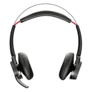 Plantronics  Voyager Focus UC B825-M Over-the-Head Stereo Headset with ANC Microphone for Microsoft Lync, Black
