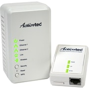 Actiontec® WPB3000 Wall Mountable Powerline Wireless Network Extender, White