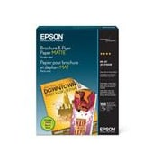 "Epson® Matte Brochure and Flyer Paper, 11"" x 8 1/2"", 150 Sheets/Pack (S042384)"