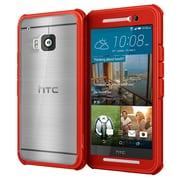 roocase Back Protection Case Cover for HTC One M9, Carmine Red (RC-HTC-M9-GT-RD)
