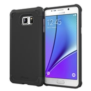 roocase Armor Case Cover for Samsung Galaxy Note 5, Granite Black (RC-NOTE5-ET-BK)