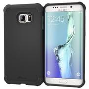 roocase Armor Case Cover for Samsung Galaxy S6 Edge+, Granite Black (RC-SAM-S6EP-ET-BK)