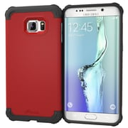 roocase Armor Case Cover for Samsung Galaxy S6 Edge+, Carmine Red (RC-SAM-S6EP-ET-RD)