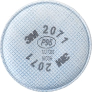2000 Series Respirator Prefilters, SE906, Filter Pads/Cartridges, 24/Pack
