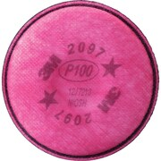 2000 Series Respirator Prefilters, SE911, Filter Pads/Cartridges, 10/Pack