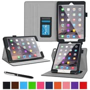 roocase Dual View Folio Stand Case for Apple 12.9-inch iPad Pro, Black (RC-AIR-PRO-DV-BK)