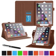 roocase Dual View Folio Stand Case for Apple iPad Pro, Brown (RC-AIR-PRO-DV-BR)
