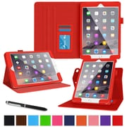 roocase Dual View Folio Stand Case for Apple 12.9-inch iPad Pro, Red (RC-AIR-PRO-DV-RD)