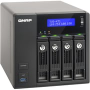 Qnap TVS-471 Series High-Performance Turbo vNAS, TVS-471-I3-4G-US, 6 Bay, NAS