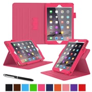 "roocase RC-APL-MINI4-DV-MA Dual View Leather Case for 7.9"" Apple iPad Mini 4, Magenta"