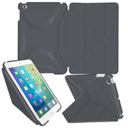 "roocase RC-APL-MINI4-OG-SS-SG/GM Origami 3D Polyurethane Case for 7.9"" Apple iPad Mini 4, Space Gray"