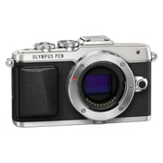 Olympus PEN E-PL7 16.1 Megapixel Mirrorless Digital Camera Body, Silver