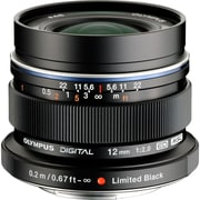 Olympus® M.Zuiko Digital ED V311020BU001 12 mm Lens for E-M1/E-M10 Camera