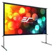 "Elite Screens® Yard Master 2 OMS110HR2 Surface Mount 110"" Projection Screen"