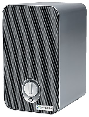GermGuardian - 3-in-1 Tabletop UV-C Air Purifier - White/Black AC4100