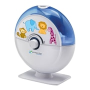 PureGuardian® H1010BL 14-Hour Ultrasonic Cool Mist Humidifier, Table Top, Blue with Kids Decals