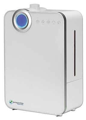 PureGuardian H7500 90-Hour Elite Ultrasonic Warm and Cool Mist Humidifier, 1.32-Gallons 1932894