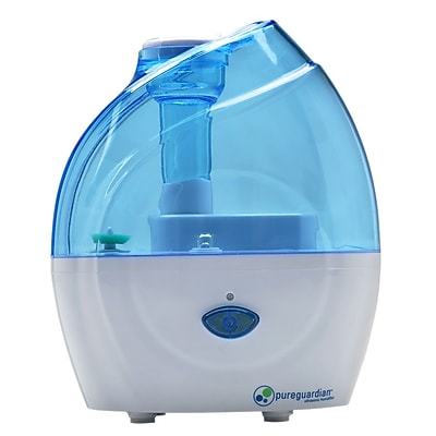 PureGuardian H900BL 10-Hour Nursery Ultrasonic Cool Mist Humidifier, Blue 1932862
