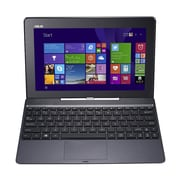 "Asus Transformer Book T100TA-H1-WH 10"" 2-in-1 Laptop, Intel Quad Core, 32GB SSD and 500GB, 2GB, Windows 8, Red"
