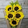 The Bouqs Company Hello Sunshine Sunflowers, Yellow, Without